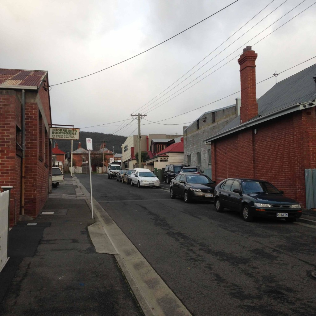 North Hobart House street scene