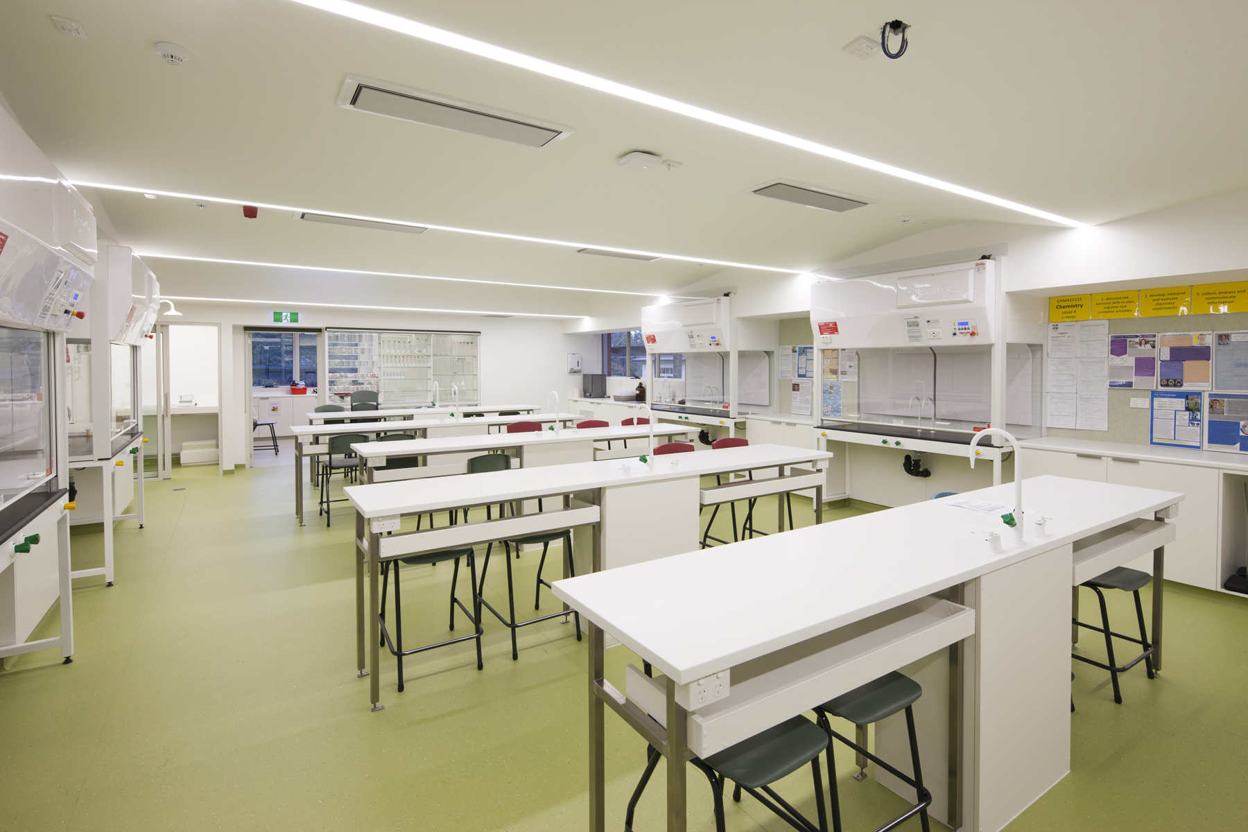 New Clemes Science Labs