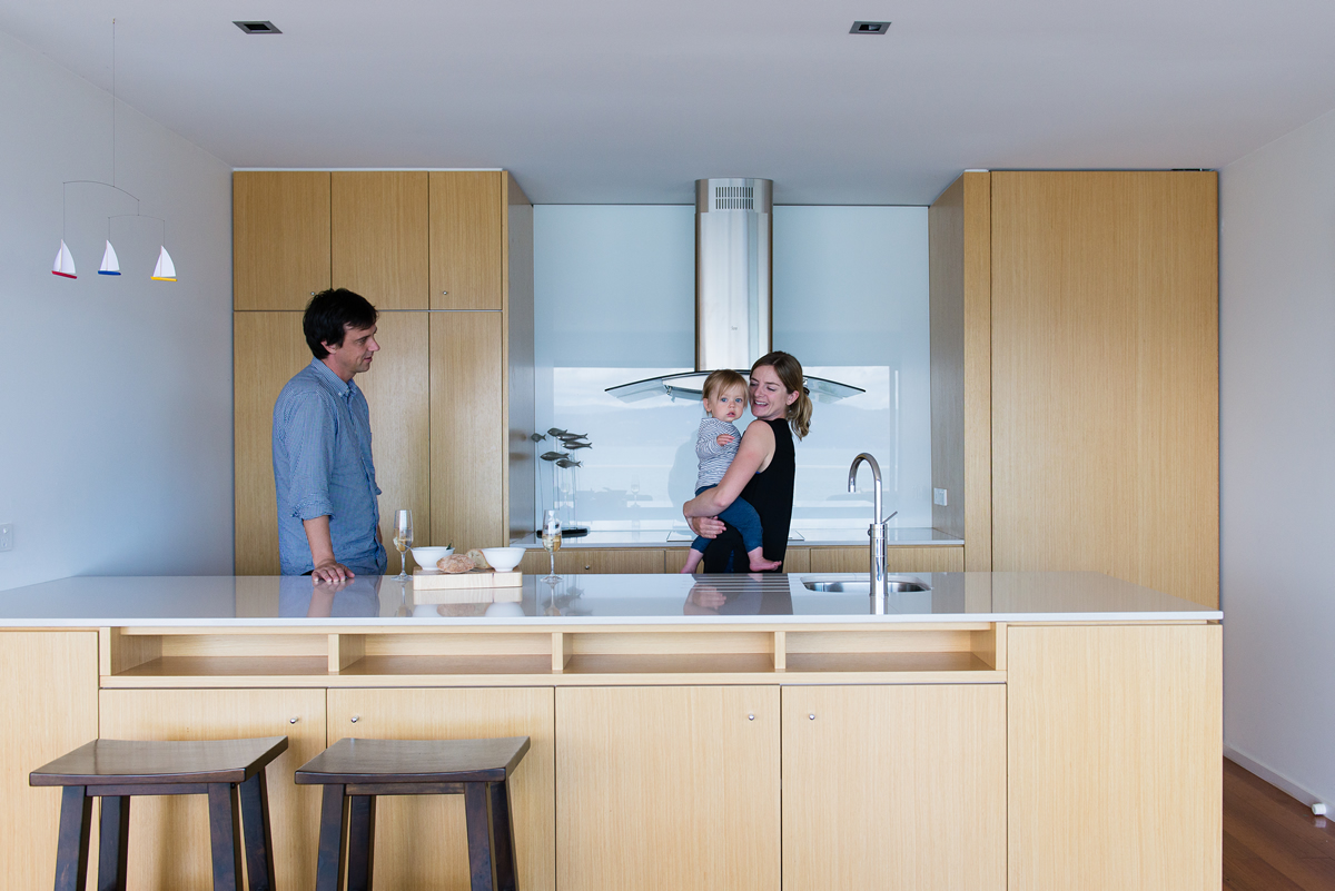 Opossum Bay house kitchen