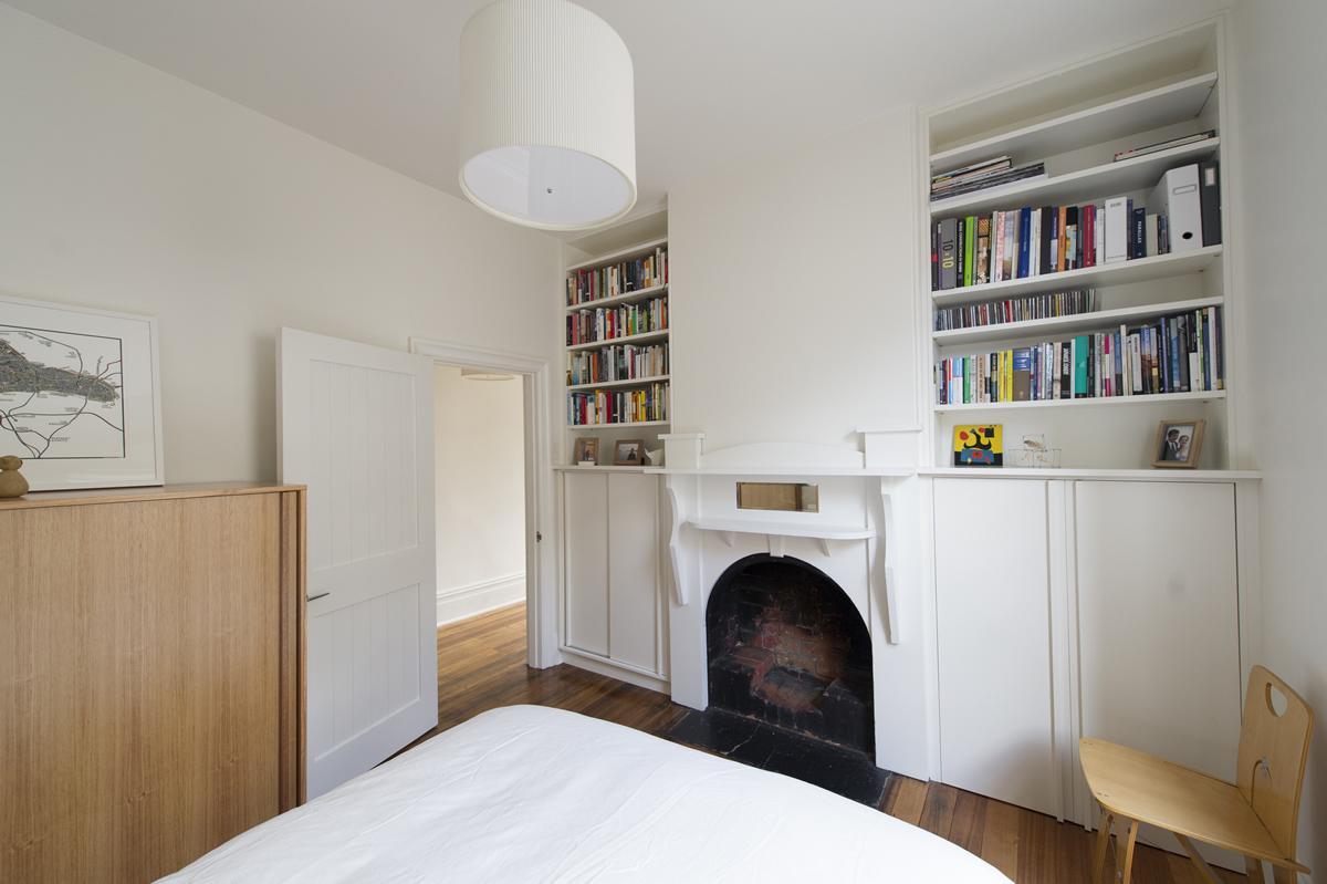 Ryde Street house master bedroom