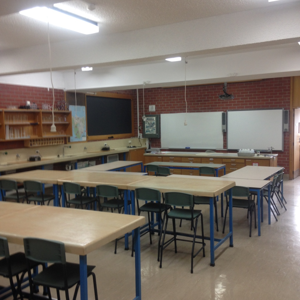 image of old science labs